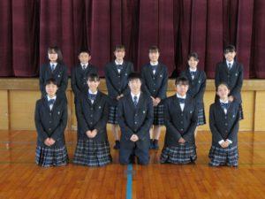 福岡県立輝翔館中等教育学校 | » 生徒会をよろしくお願いします